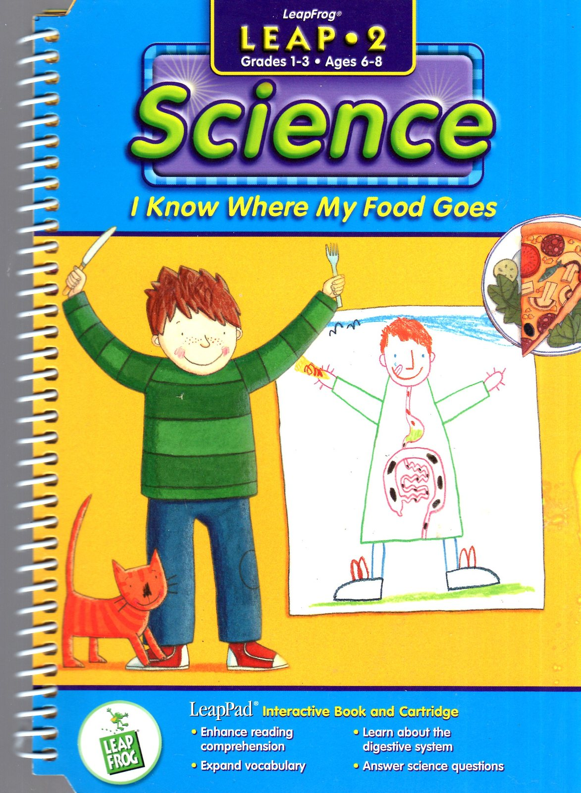 "LeapFrog  -  Science "" I Know Where My Food Goes"""