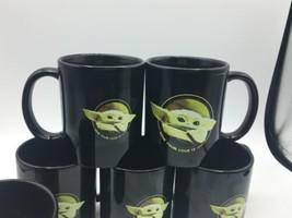 Lot of 6 Disney Star Wars Mandalorian The Child Baby Yoda Tea Coffee Mug Grogu image 2