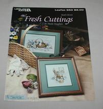 Fresh Cuttings and Gardens Bounty Leisure Arts 553 Cross Stitch Pattern ... - $9.41