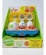 Bright Starts Giggling Gourmet Put 'n Shake Eggs - $39.19