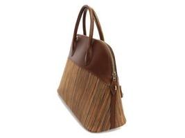 HERMES Bolide 35 Vibrate Brown Handbag Shoulder Bag #D Authentic 5473007 image 2