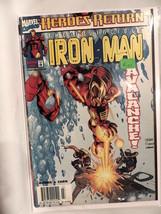 #2 The Invincible Iron Man 1998  Marvel Comics B151 - $3.99