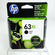 HP 63XL Black Ink Cartridge High Yield EXP. Oct. 2020 NEW Sealed - $34.60