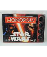 Monopoly STAR WARS 2015 Board Game Hasbro Bilingual New Open Box - $26.80