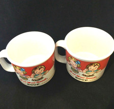Campbell Mug 1989 Campbell Soup M'm! M'm! Good Soup Mug ~ 2, kids Mug Vi... - $10.63