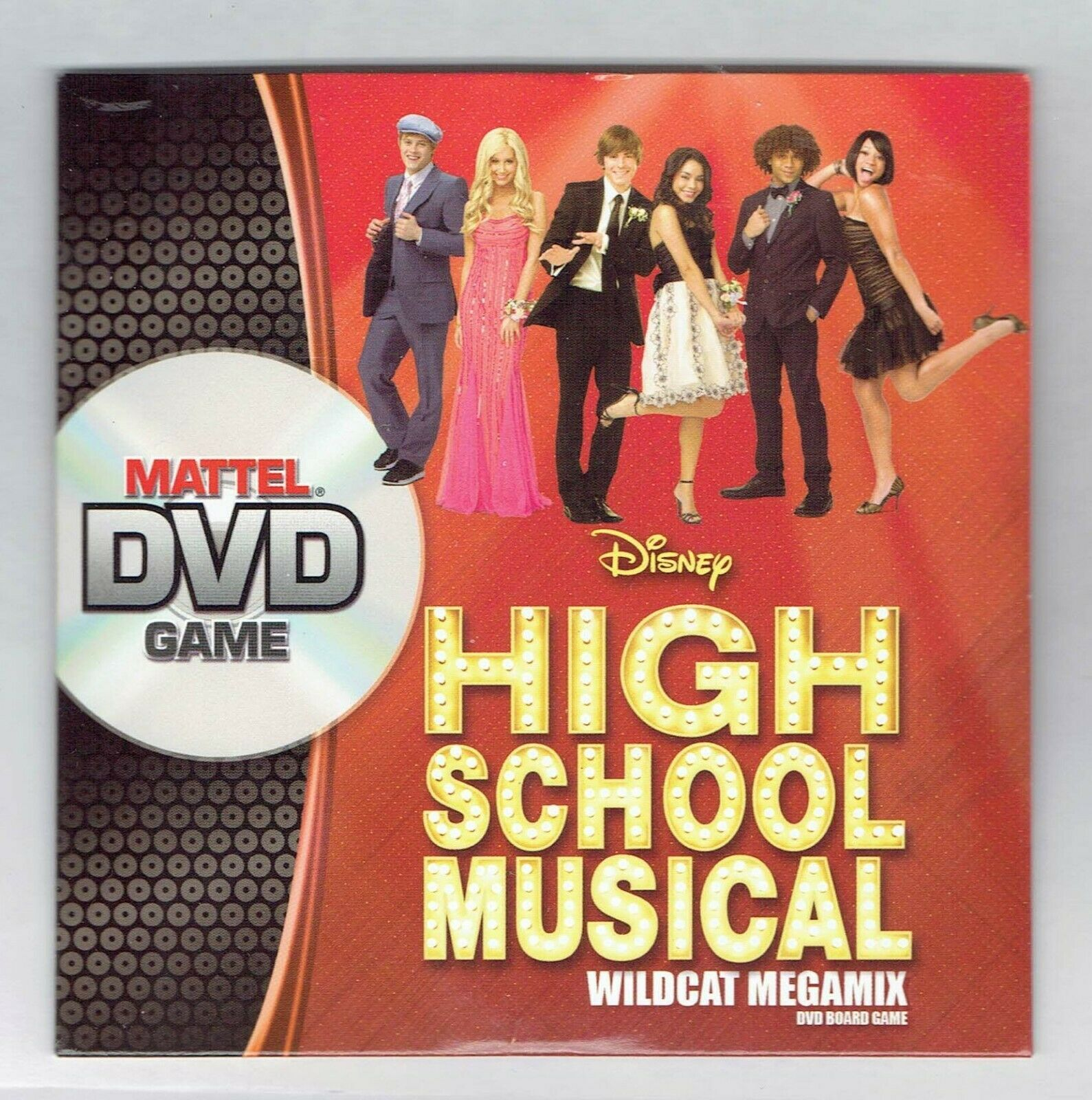 Primary image for 2008 Mattel High School Musical DVD Game Replacement Original DVD