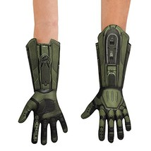 Disguise Men's Master Chief Deluxe Adult Costume Gloves, Green, One Size - $20.31
