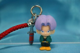Bandai Dragonball Kai Gashapon Mini Strap Figure Future Trunks n Sword - $29.99