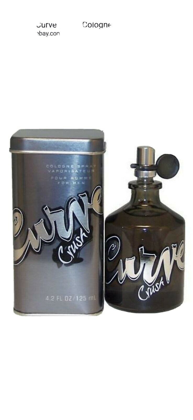 Primary image for Liz Claiborne Curve Crush 4.2oz /125 Men's Eau de Cologne. New with box.