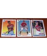 Lot of 3 1991 Chipper Jones MLB Baseball Rookie Cards - Topps Upper Deck... - $8.99