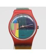 Vintage Swatch McSwatch LR105 Ladies Watch Wristwatch 1984 - $49.49