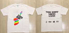 Live Aid Vintage Tour T-Shirt Reprint 1985 Queen Duran Power Station Wha... - $24.99+