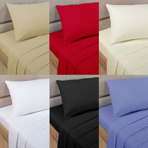 1200 Thread Count 100%Egyptian Cotton 6 PC Sheet Set US-Sizes All Solid ... - $75.99