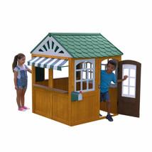 Wooden Playhouse For Kids Outdoor Back Yard Fun Play House Garden High Q... - $9,876.00