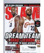 ORIGINAL Vintage December 2009 Slam Magazine Lebron James Shaquille O'Neal - $46.53