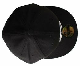 Dissizit Channel 0 Black 59Fifty New Era Fitted Hat image 3