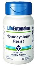 NEW! 2 Bottles Life Extension Homocysteine Resist Vitamin B12 B6 B2 Folate - $31.04