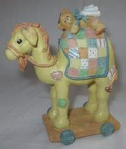"Cherished Teddies ""Camel"" Pull-Toy Nativity 904309 with box - $49.45"