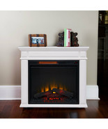 Caiden White Infrared Electric Fireplace HeaterCOZY WARMTH  FREE SHIPPIN... - $479.00