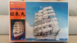 Rare Imai 1/150 scale Nippon Maru Sailing Ship Plastic Model Kit 1990s - $142.50