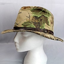 RedHead Realtree Safari Camouflage Large Fitted Hat USA Brown Leather Ha... - $27.99