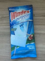Windex Window Outdoor All In One Glass Cleaner Kit Streak Free Refill Pad - $15.00