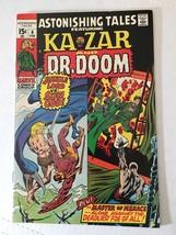 Astonishing Tales Featuring Kavar & DR. Doom #4 1971 Marvel Comic FN+ (7.5) - $11.69