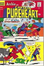 Archie as Captain Pureheart Comic Book #5, Archie 1967 VERY FINE- - $47.32