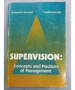 Supervision: Concepts and practices of management Haimann, Theo - $3.47