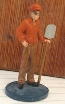 Clue board Game Parts Pieces Man With Shovel figure Only  - $3.46