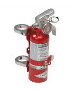 Red 1LB Fire Extinguisher Kit Clamps for 1.50 Inch Tubing for Offroad Sa... - $106.95