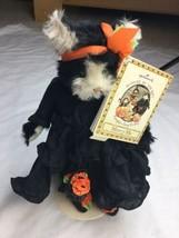 Hallmark 2002 Bunnies By The Bay Mercy Me Halloween Fall Autumn Cat & St... - $37.17