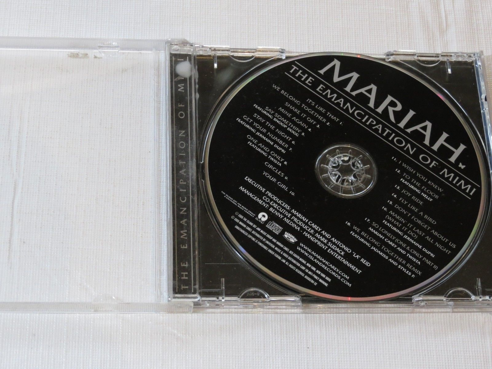 The Emancipation of Mimi by Mariah Carey CD 2005 Island Def Jam Music Group