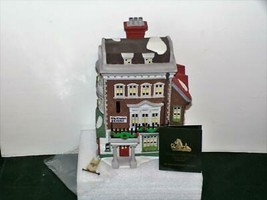 DEPT. 56-DICKENS VILLAGE LIMITED ED BLDG - CROWN & CRICKET INN-NIB - $21.78