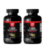 immune support dietary supplement LIVER COMPLEX 1200M milk thistle supplement 2B - $28.01