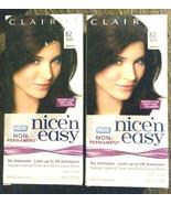 Nice 'n Easy Non-Permanent Hair Color 82 Dark Warm Brown ( 2 pack ) 28 s... - $11.39