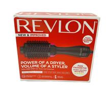 Revlon One-Step Hair Dryer And Volumizer Hot Air Brush, Black - $39.59