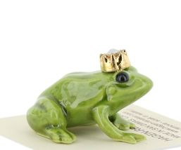 Birthstone Frog Prince October Simulated Opal Miniatures by Hagen-Renaker image 5