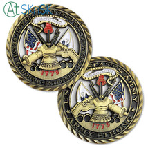 United States Army Military Motto This Will Defend Since 1775 Challenge Coin - $10.59