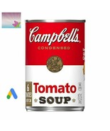 Campbell's Condensed Soup, Tomato, 10.75 oz (24 Cans  Included) Exp. Dat... - $40.50