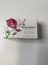 Crabtree & Evelyn Rosewater Triple Milled Soap 3.0 oz New In Box - $23.76
