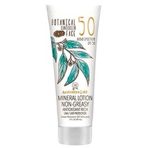 Australian Gold Botanical Sunscreen Tinted Face Mineral Lotion, Broad Sp... - $12.15