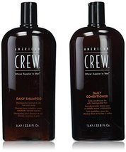 American Crew Men's Daily Shampoo & Conditioner Duo 33.8 Fluid Ounce - $59.34