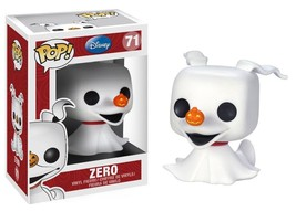 FUNKO POP! DISNEY: THE NIGHTMARE BEFORE CHRISTMAS - ZERO 71 3406 VINYL F... - $30.90
