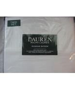 Ralph Lauren Dunham White Sheet Set Twin - $52.00