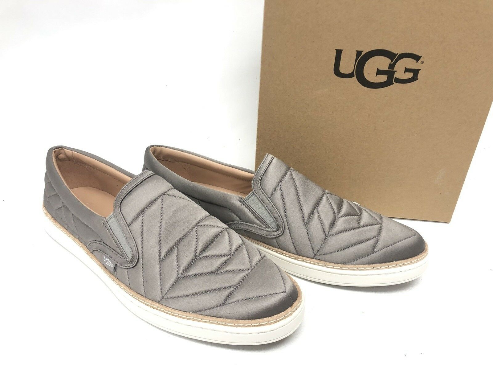 Ugg Australia Soleda Quilted Sneaker Elephant Gray Grey 1095533 Shoes Women's