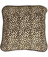 Pillow Decor - Deer Print Cotton Small Throw Pillow - $19.95