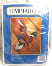 Vintage Temptations Mallard in Flight J L craft designs Needlepoint Kit ... - $19.59