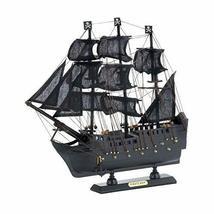 Accent Plus Ship Model - Black Pirate Ship - $28.92