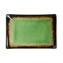 Kylin Express Rectangle Ceramic Dinner Plate Creative Japanese Sushi Plate, Gree - $35.43